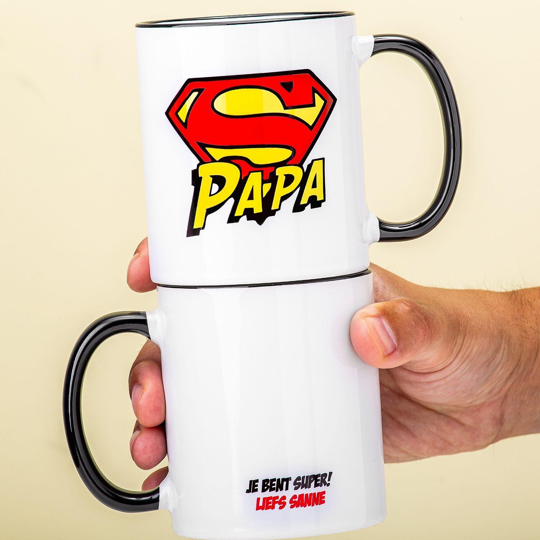 Gepersonaliseerde mok Superpapa