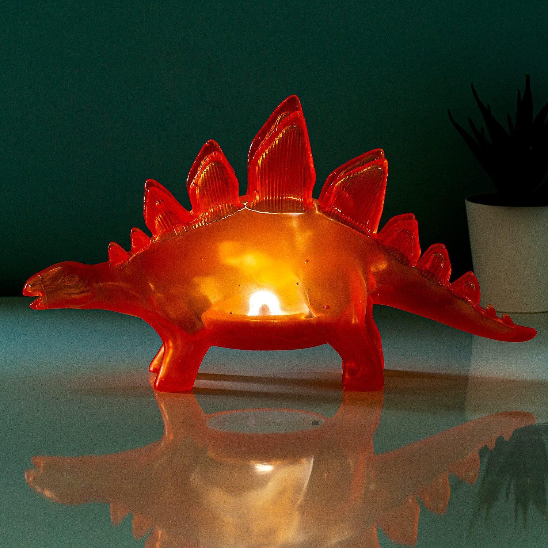 Fizz Jelly Dinosaurus Lamp - Oranje