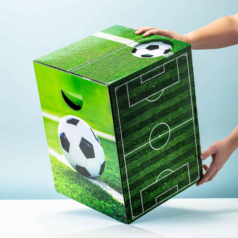Kartonnen Kruk - Voetbal