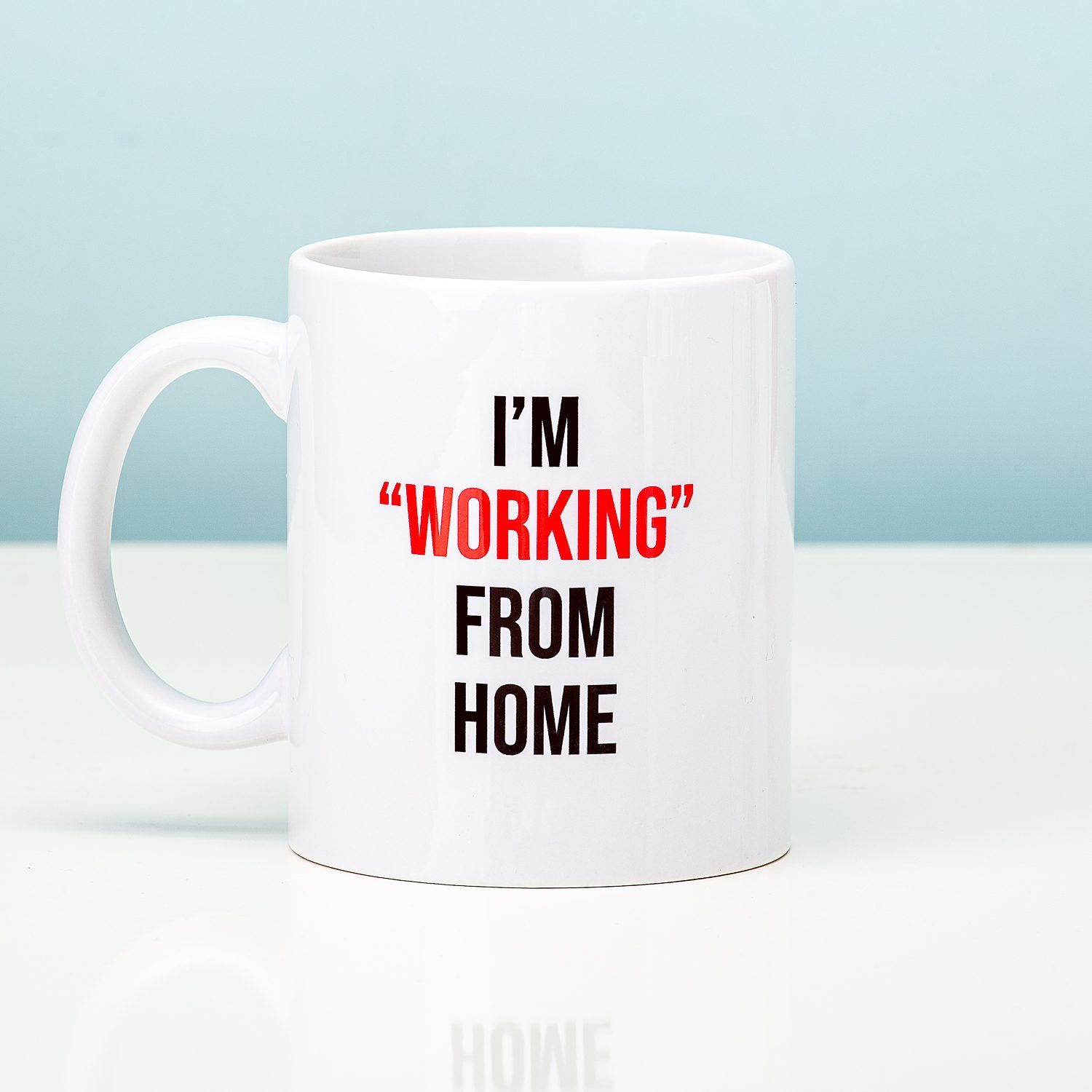 "Mok ""Working"""" From Home"""