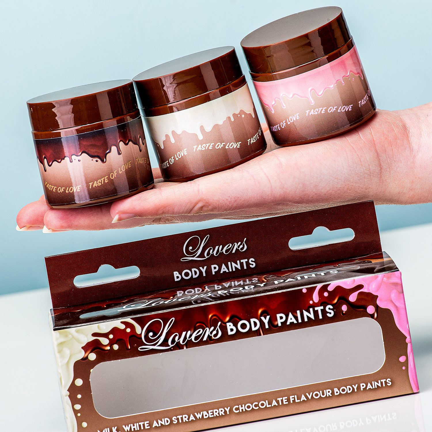 Lovers Body Paints (set Van 3)