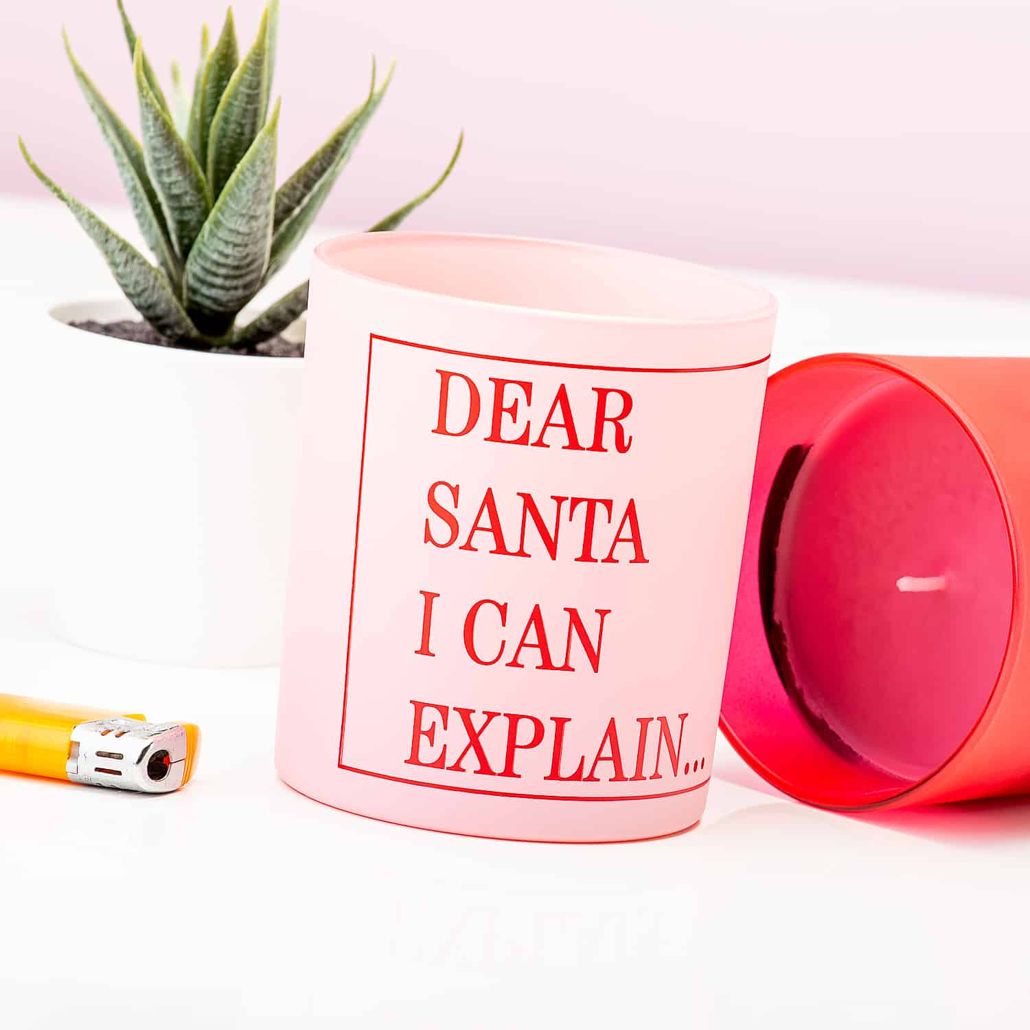 Dear Santa I Can Explain Kaars