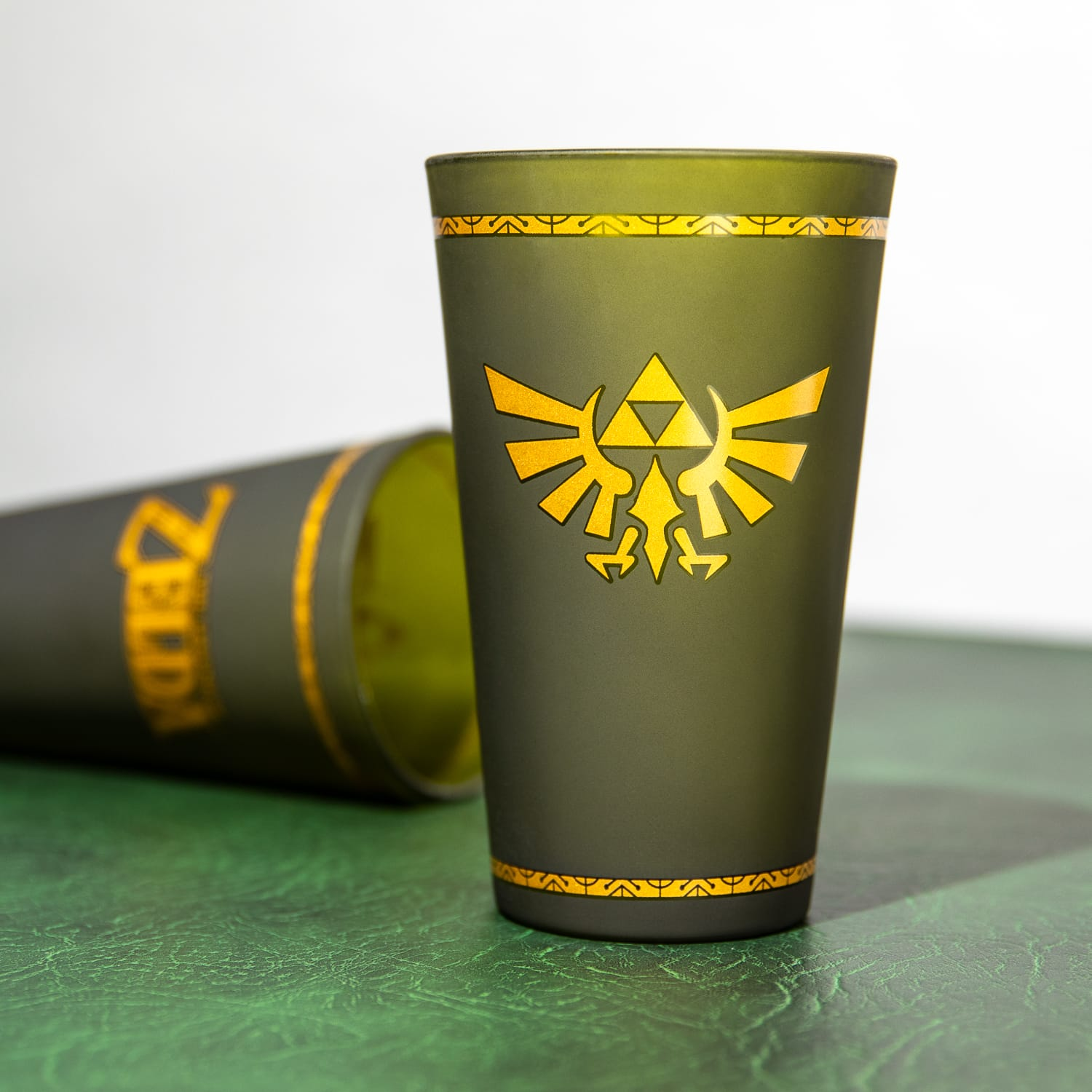The Legend Of Zelda Hyrule Crest Glas