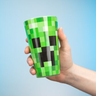 Minecraft Creeper glas