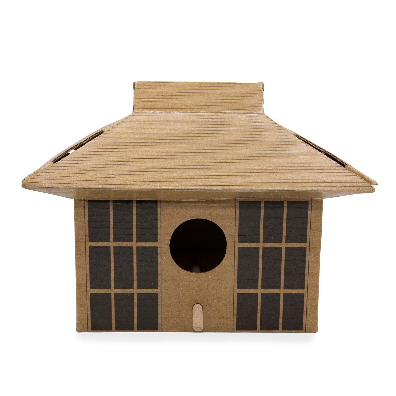 DIY Vogelhuisje - Japans Theehuis