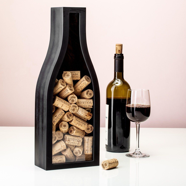 Wijnfles Kurkenverzamelaar