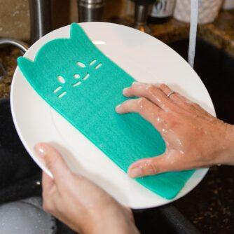 Kat schoonmaakdoekjes (set van 3)