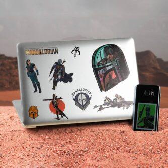 Disney Star Wars Mandalorian gadget stickers - The Mandalorian