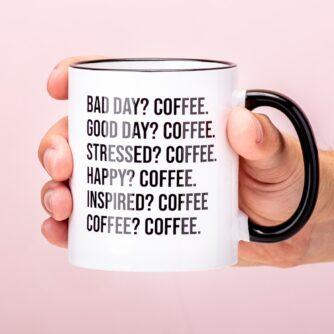 Bad Day koffie mok