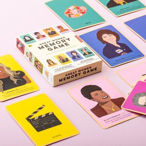 Great Women memory spel