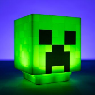 Minecraft Creeper lampje