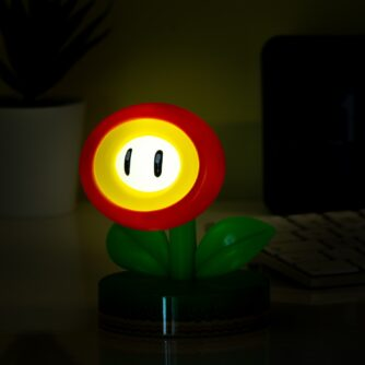 Super Mario Fire Flower lamp