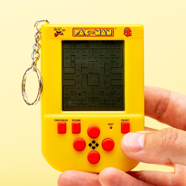 Pac-Man Spelcomputer Met Sleutelhanger