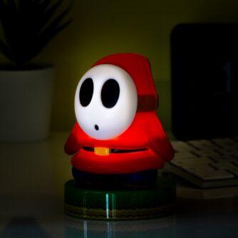 Super Mario Shy Guy lamp