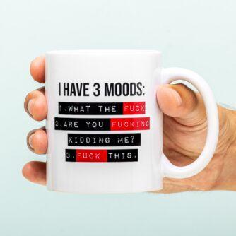 Three Moods mok