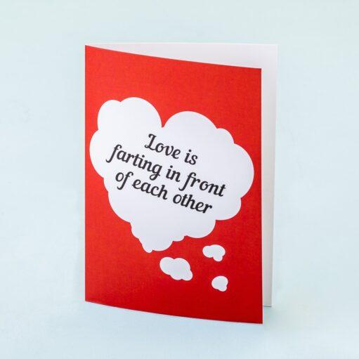 Wenskaart Love Is...