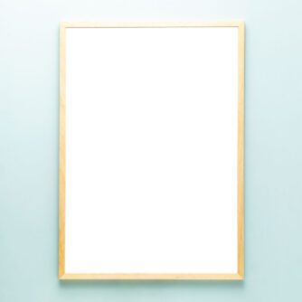 Houten lijst - blank A2