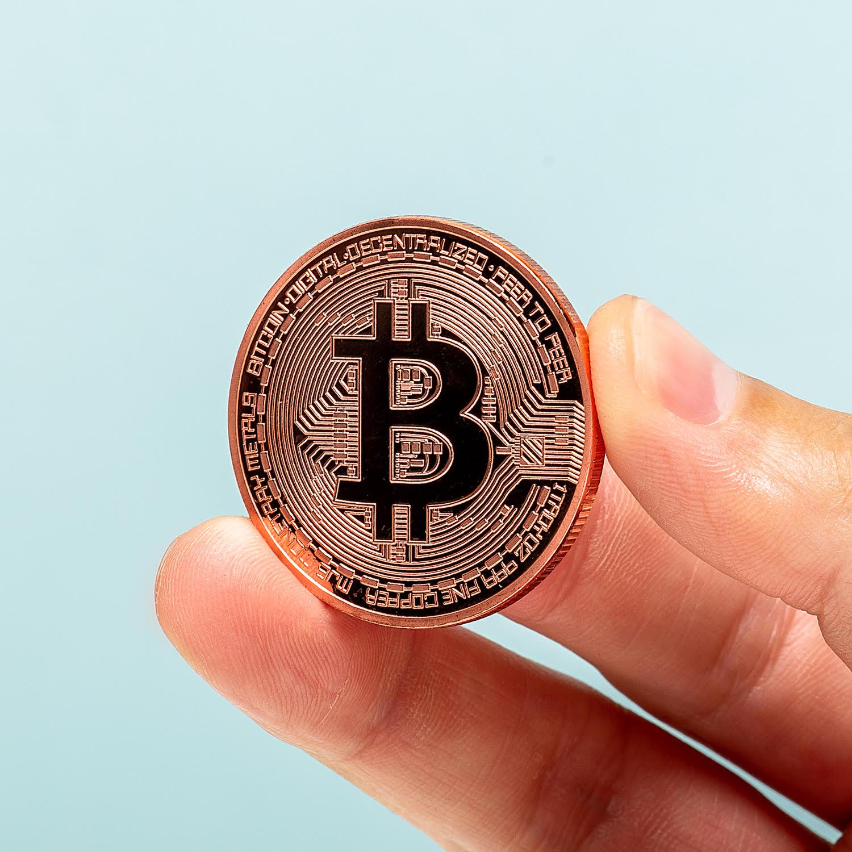 Bitcoin Munt - Bronskleurig